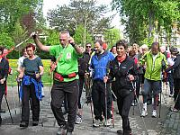 Belsemer Butzen - Nordic-Walking am 9. Mai 2010